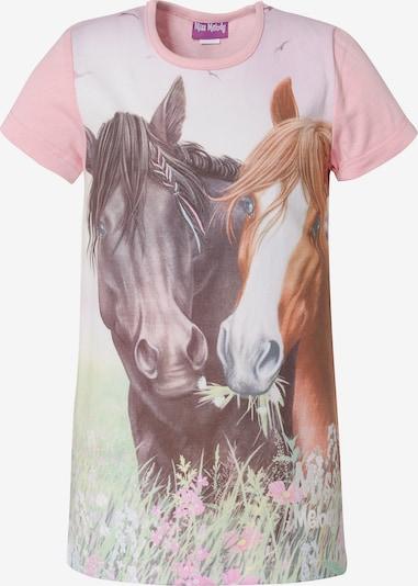 Miss Melody T-Shirt in mischfarben / rosa, Produktansicht