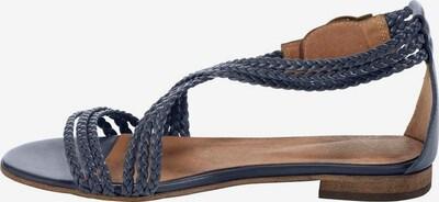 Sandale cu baretă heine pe albastru porumbel, Vizualizare produs