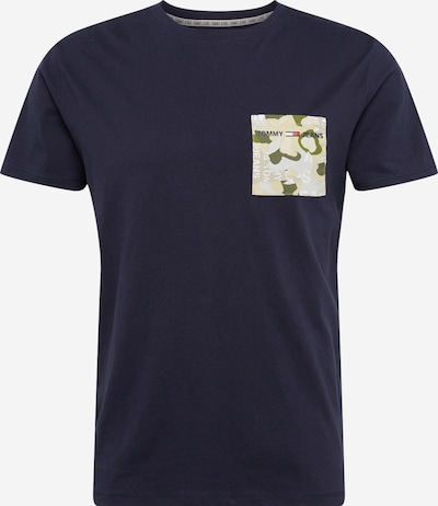 Tommy Jeans Shirt in navy / grau, Produktansicht