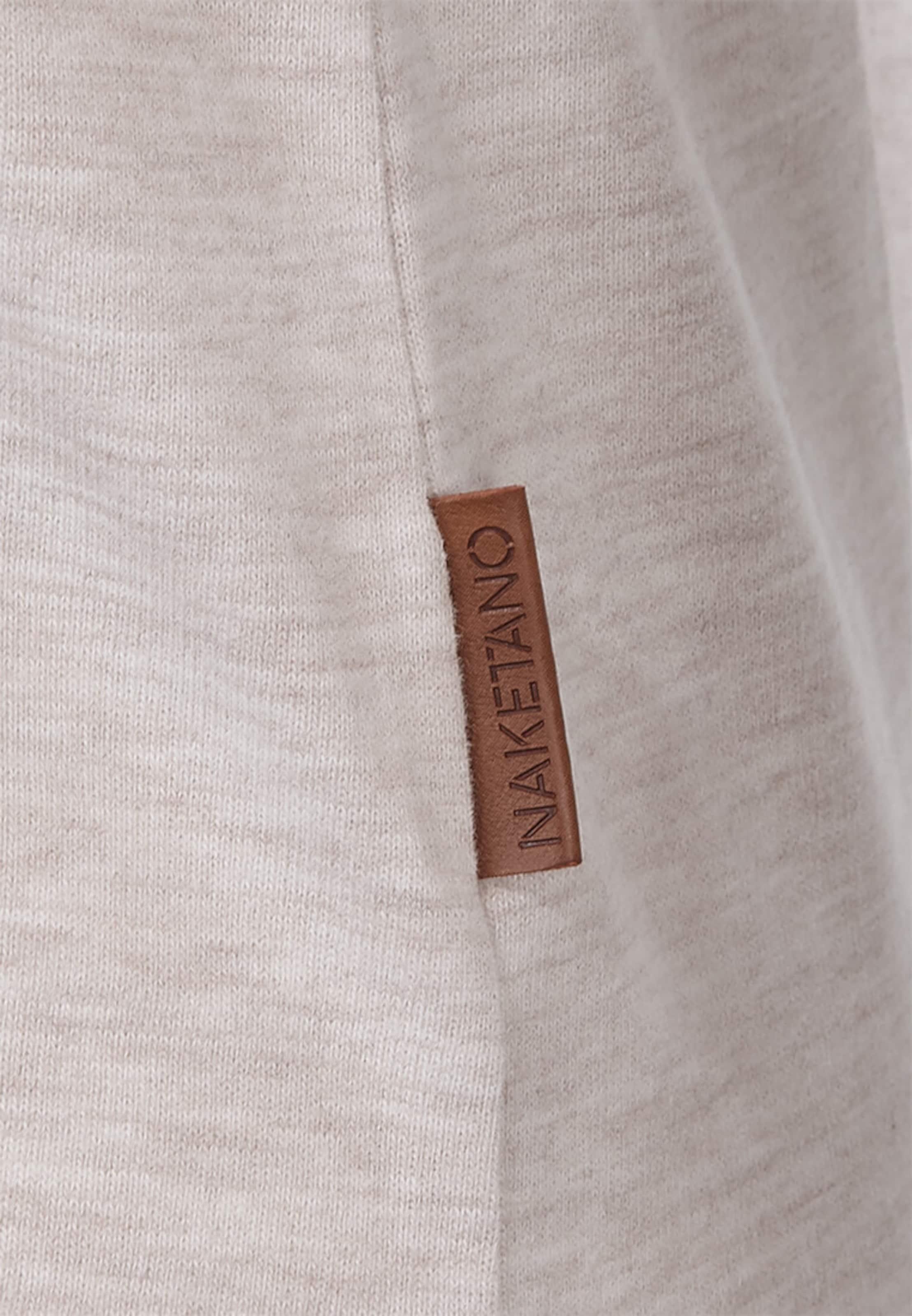 Naketano 'krokettenhorst' Sweatshirt Naketano In Beigemeliert EHD92I
