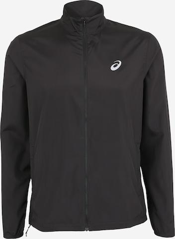 ASICS Sportjacka 'Silver' i svart