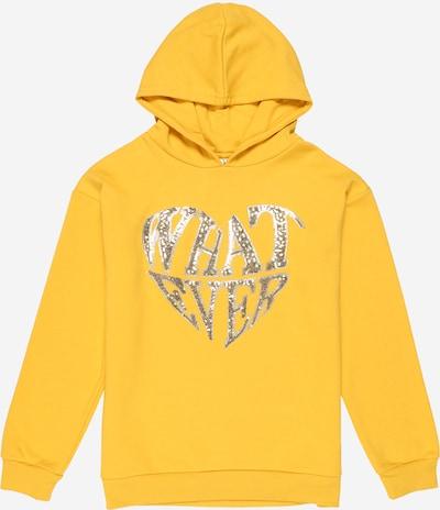 NAME IT Sweatshirt 'Nadali' in goldgelb / silber, Produktansicht