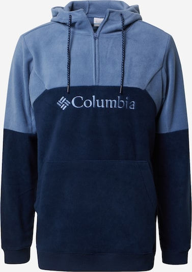 COLUMBIA Sportsweatshirt 'Lodge II' in de kleur Navy / Smoky blue, Productweergave