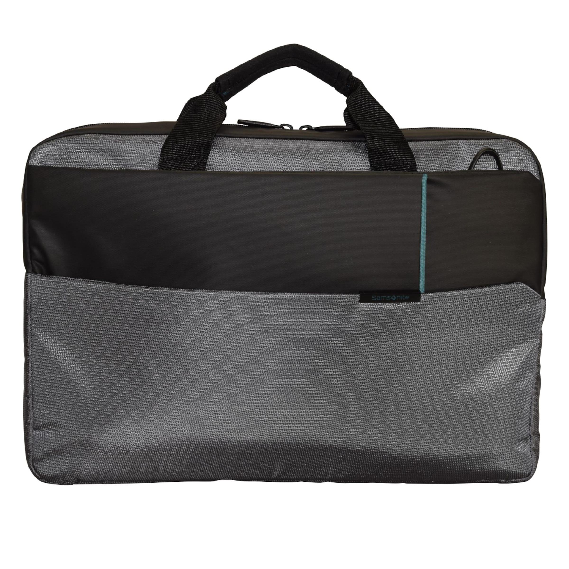 44 Businesstasche Laptopfach In Qibyte Cm AnthrazitSchwarz Samsonite yY67bgf