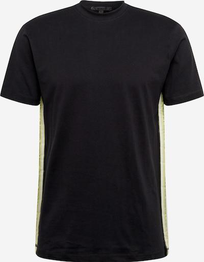 Mennace T-Shirt 'BRANDED MENNACE LIMITED SIDE TAPE SS TSHIRT' en noir, Vue avec produit