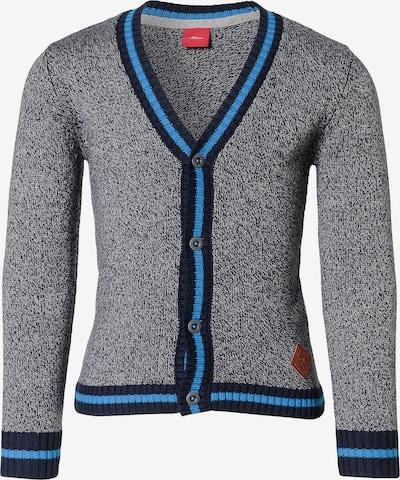 s.Oliver Junior Jacke in blau / enzian / graumeliert, Produktansicht