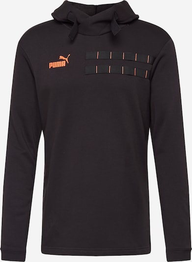 PUMA Sweatshirt in orange / schwarz, Produktansicht