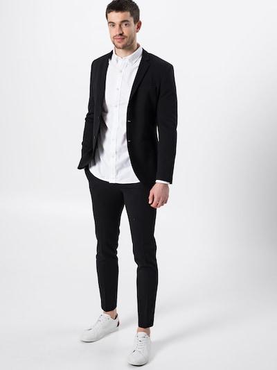 JACK & JONES Anzug 'JPRSteven' in schwarz: Frontalansicht