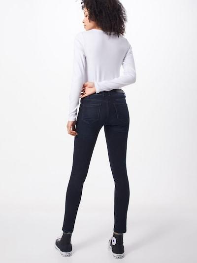 Jeans 'Jungbusch' Goldgarn pe albastru: Privire spate