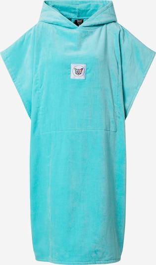 PARI Badjas kort 'SWIM CLUB POWEL' in de kleur Turquoise, Productweergave