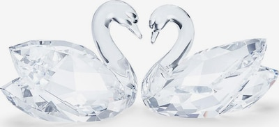 Swarovski Dekofigur 'Schwanenpaar' in transparent, Produktansicht