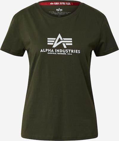 ALPHA INDUSTRIES Shirt in oliv, Produktansicht