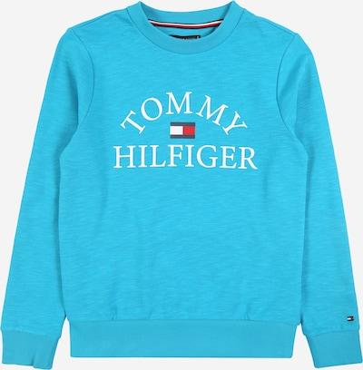 TOMMY HILFIGER Sweatshirt in türkis, Produktansicht