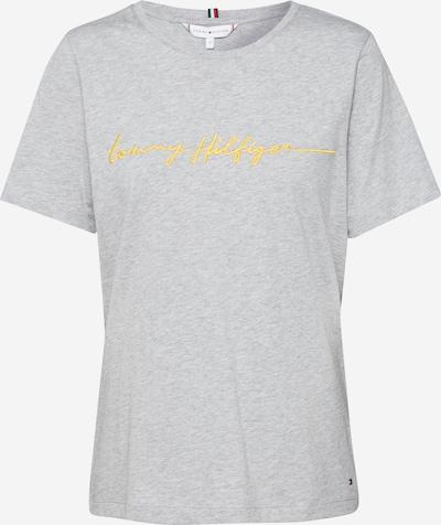 TOMMY HILFIGER T-Krekls 'ANNIE' pieejami gaiši pelēks / raibi pelēks, Preces skats