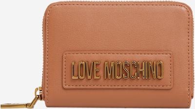 sötét barna Love Moschino Pénztárcák 'Smooth', Termék nézet