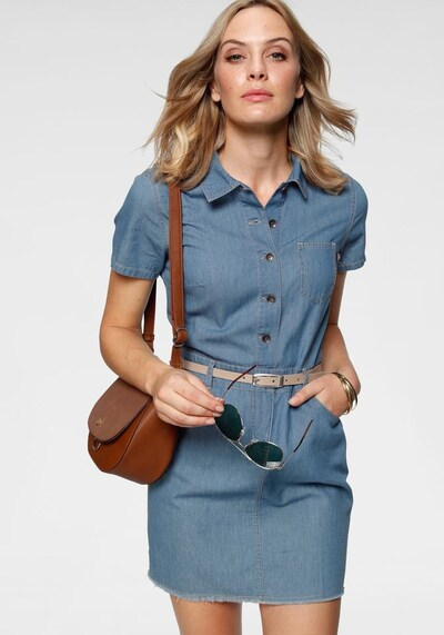 ARIZONA Jeanskleid in blue denim, Modelansicht
