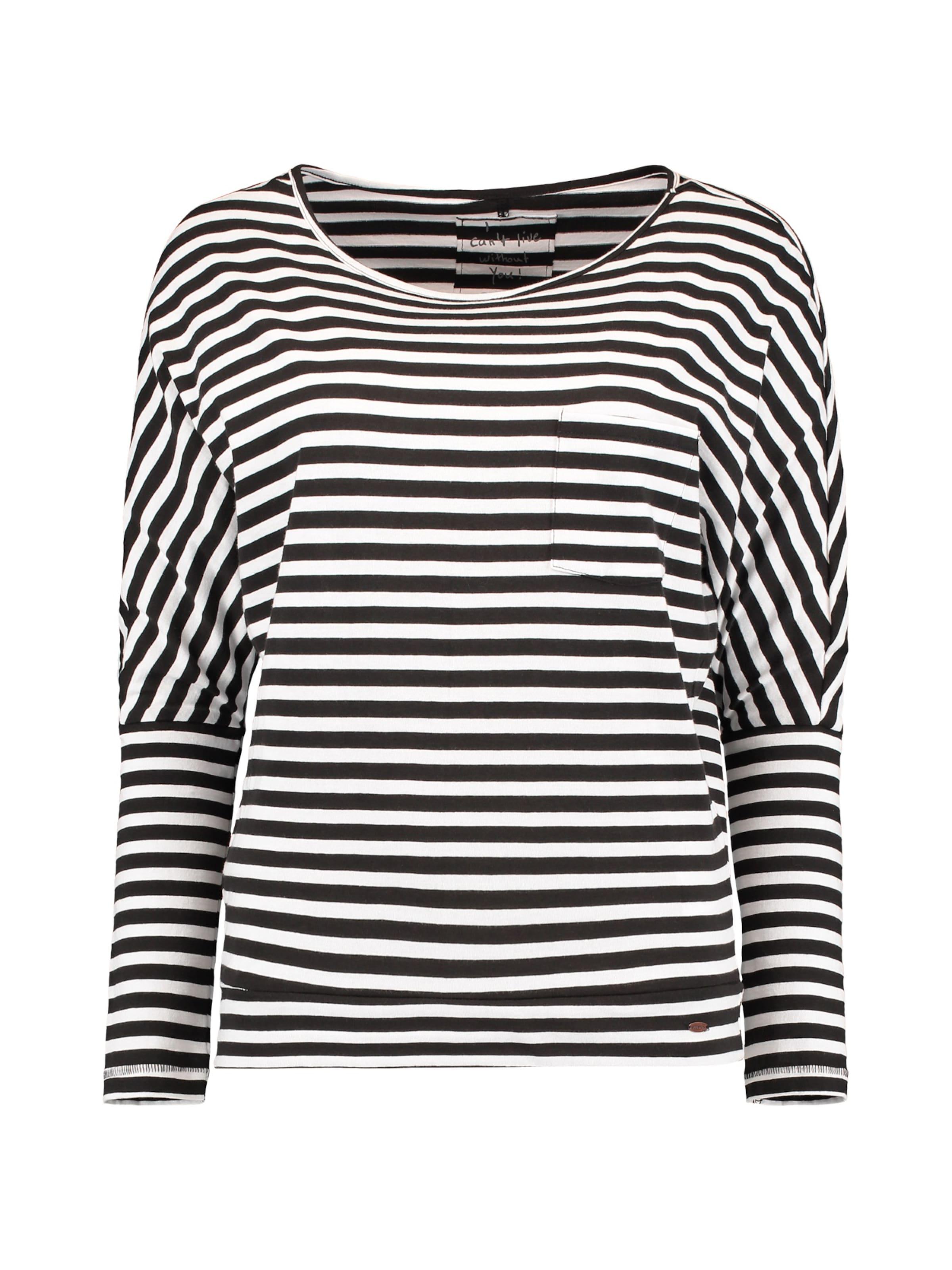 In Striped Shirt Top' SchwarzWeiß O'neill 'lw Essentials QrtdsCh