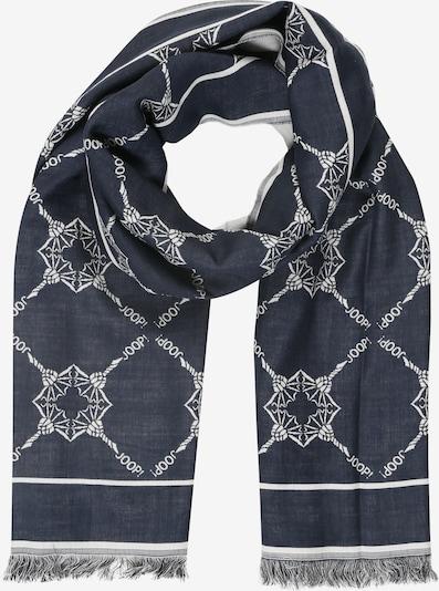 JOOP! Sjaal 'Fatos' in de kleur Donkerblauw, Productweergave