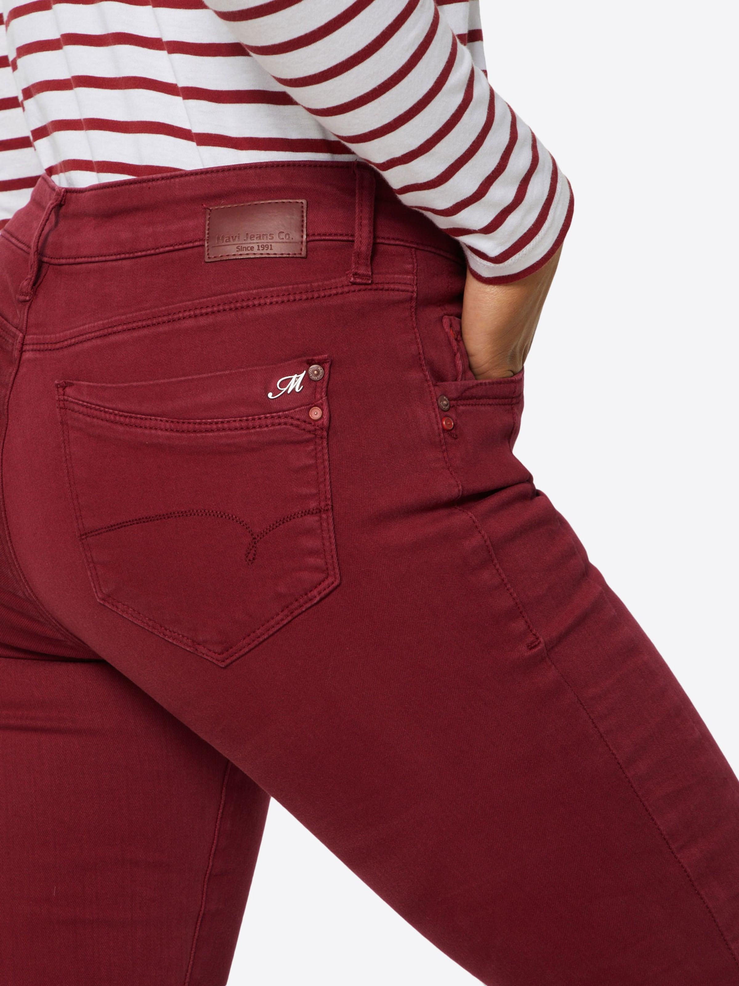 Jeans 'adriana' Mavi Mavi In Jeans Mavi Jeans 'adriana' Bordeaux Bordeaux In DH2IW9E