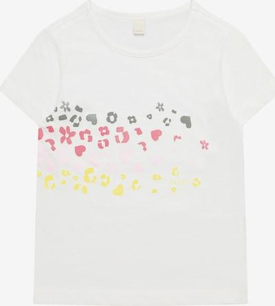 ESPRIT T-Shirt mit Glitzerprint in weiß, Produktansicht