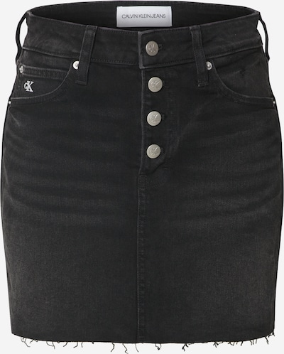 Calvin Klein Jeans Rock in black denim, Produktansicht