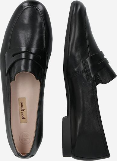 Paul Green Loafer in schwarz: Seitenansicht