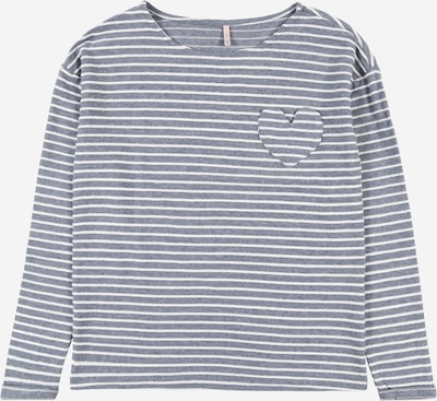 KIDS ONLY Shirt 'ELLY' in hellblau / weiß, Produktansicht