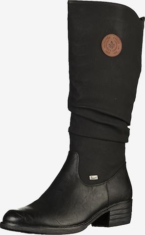 RIEKER Stiefel in Schwarz