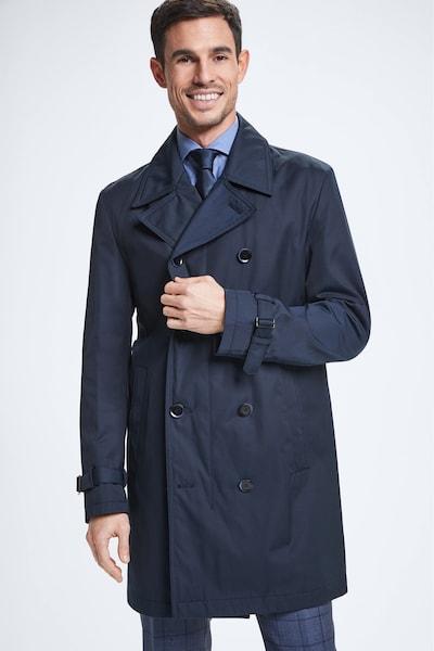 STRELLSON Mantel ' Genova ' in dunkelblau, Modelansicht