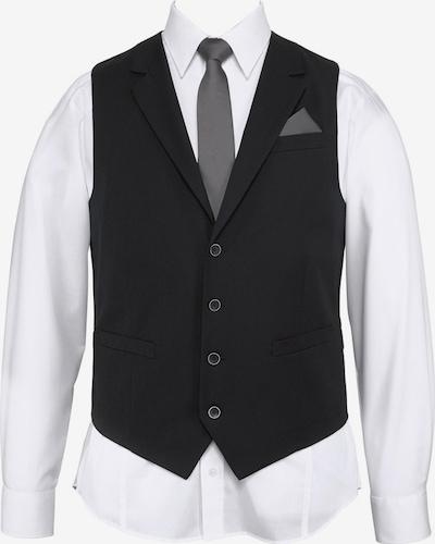 Vestă de costum BRUNO BANANI pe negru, Vizualizare produs