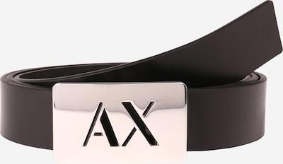 ARMANI EXCHANGE Gürtel in schwarz / silber, Produktansicht
