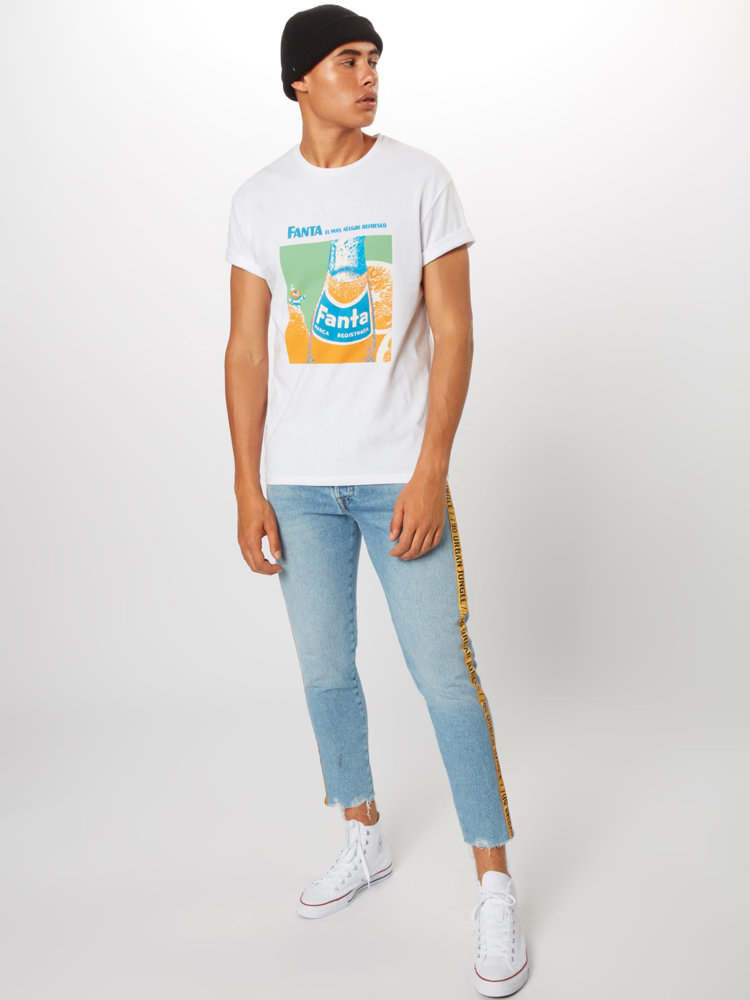 shirt 'fanta' T BleuVert Jones Orange Jackamp; En Blanc 76gYfyvb