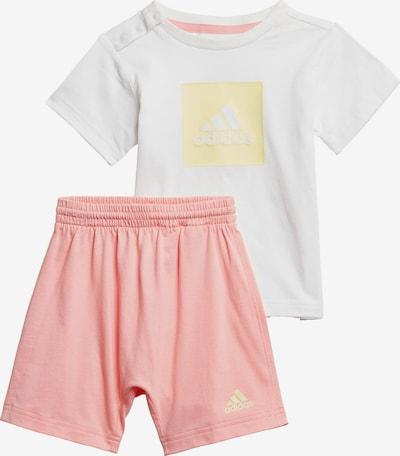 ADIDAS PERFORMANCE Jogginganzug in gelb / rosa / weiß, Produktansicht