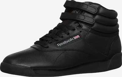 Reebok Classics High-Top Sneakers in Black: Frontal view