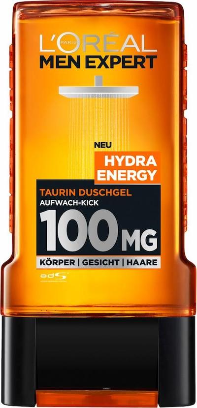 L'Oréal Paris men expert 'Men Expert Duschgel Hydra Energy', Duschgel in orange / schwarz, Produktansicht