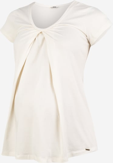 LOVE2WAIT T-Shirt 'Nursing Organic Cotton' in offwhite, Produktansicht