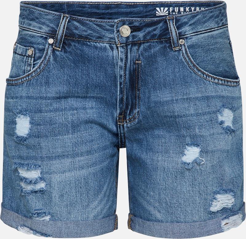 Funky Denim Buddha Jeans In Blauw 45jALqR3