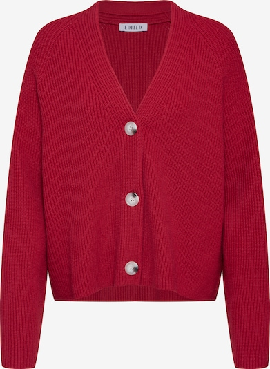EDITED Strickjacke 'Logan' in rot, Produktansicht