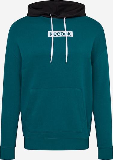 REEBOK Pullover in tanne / schwarz, Produktansicht
