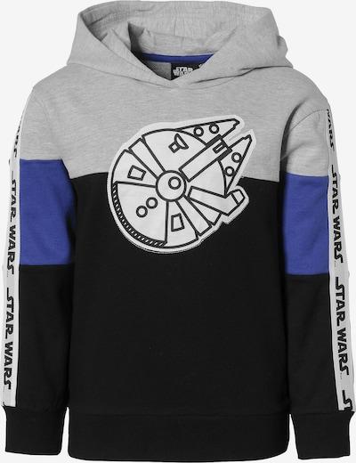STAR WARS Pullover in blau / nachtblau / graumeliert / weiß, Produktansicht