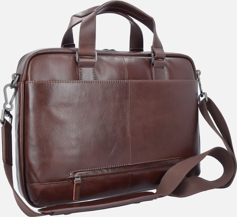 Samsonite West Port Businesstasche Leder 39 Cm