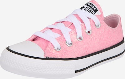 CONVERSE Sneakers 'CHUCK TAYLOR ALL STAR COATED GLITTER - OX' in de kleur Pink / Wit, Productweergave