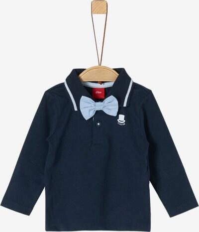 s.Oliver Junior Poloshirt in enzian / hellblau / weiß, Produktansicht