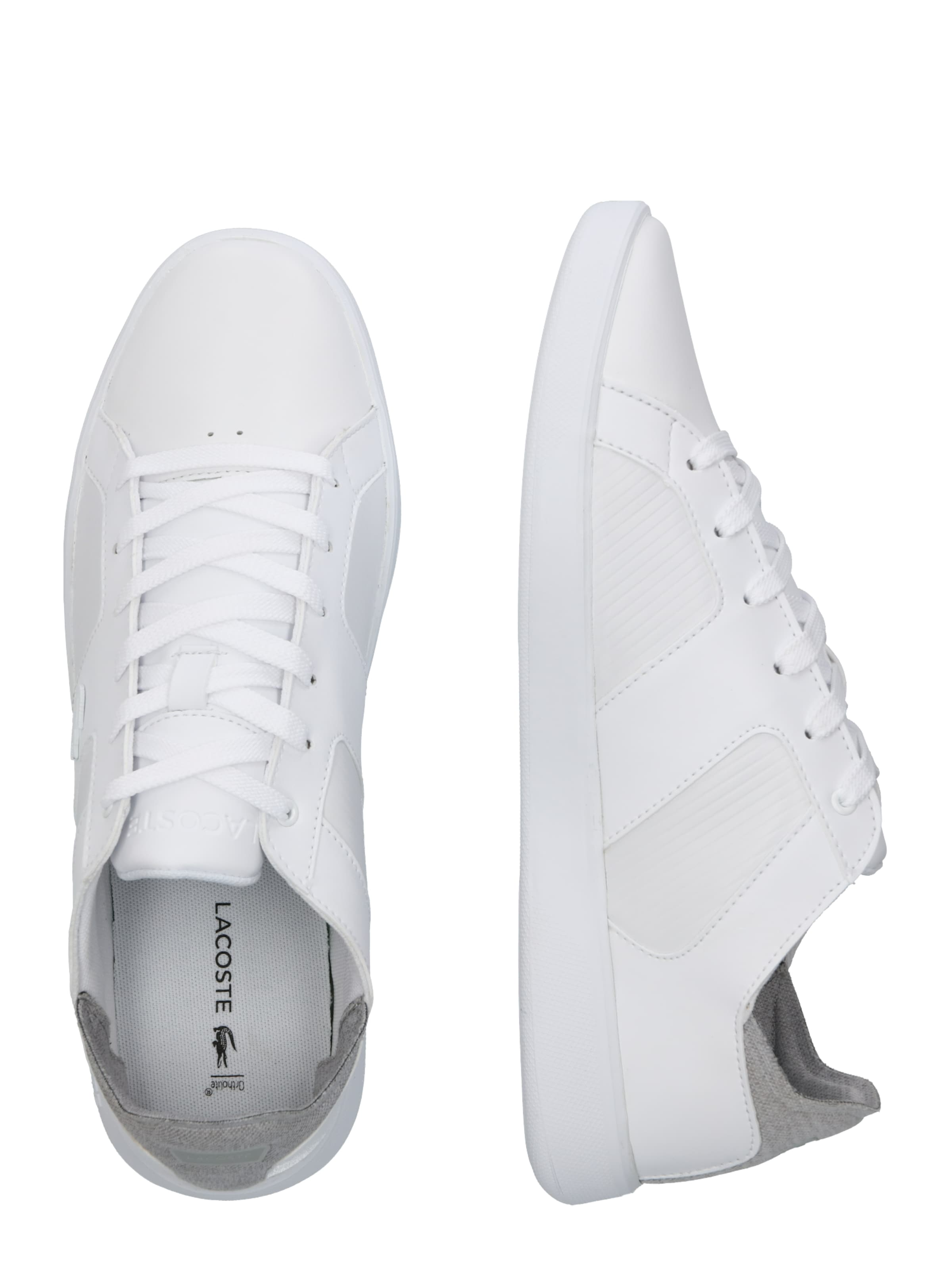 319 HellgrauWeiß 'novas Sma' Lacoste In 2 Sneaker OkPTXwuZi