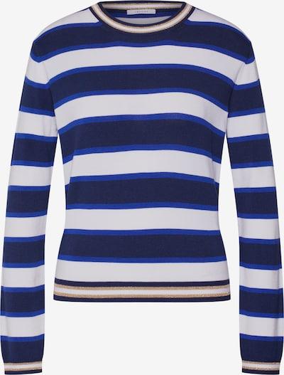 iBlues Sweter 'INPUT' w kolorze niebieski / białym, Podgląd produktu
