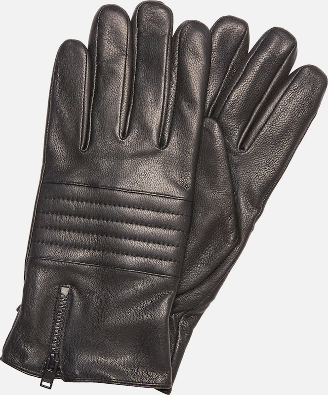 Selected Homme Leather Gloves