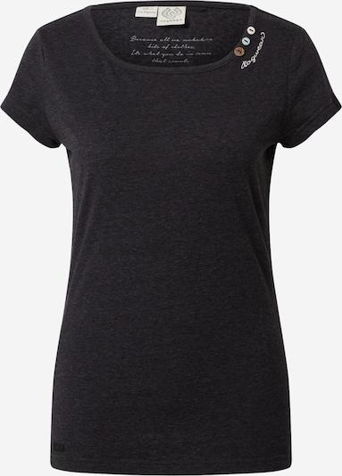 Ragwear Shirt in schwarz, Produktansicht