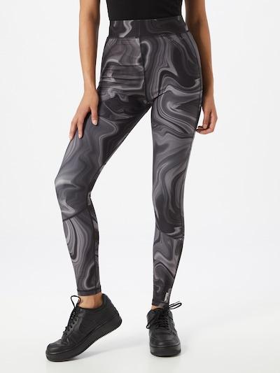 ONLY PLAY Sporthose 'MAYA' in grau / schwarz: Frontalansicht