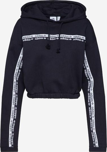 ADIDAS ORIGINALS Sweatshirt 'CROPPED HOODIE' in schwarz, Produktansicht