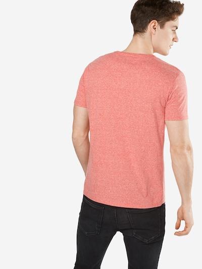 Tommy Jeans T-Shirt 'Original Triblend' in rotmeliert: Rückansicht